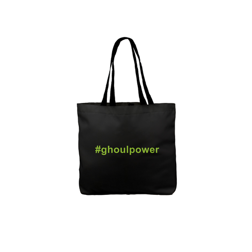 Ghoul Power Tote | Funny Trick Or Treat Bag, Girl Power Pun Halloween Tote, Ghost, Ghoulies