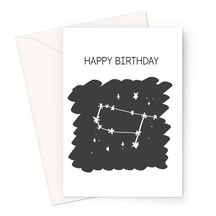 Happy Birthday Gemini Greeting Card | Astrology Birthday Card For Gemini, Gemini Constellation, Star Sign, Astro, Sun Sign, Astrological Sign, Horoscope