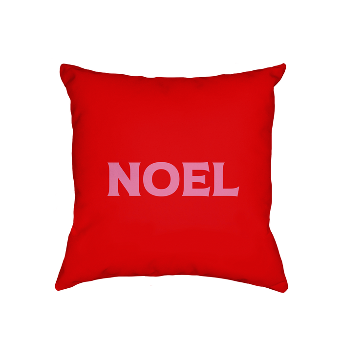 Noel Cushion | French Christmas Cushion, Christmas Gift, Christmas Home Decor, Christmas Carol