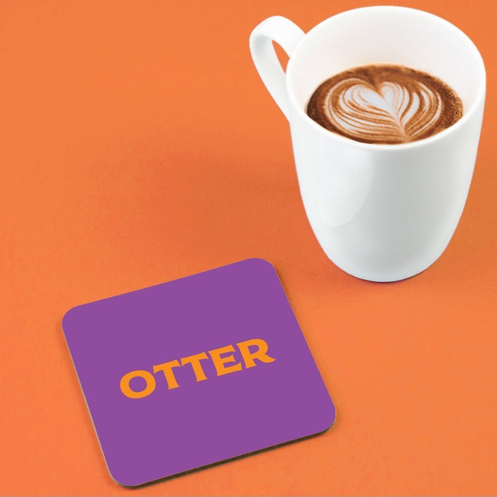 Otter Coaster | LGBTQ+ Gifts, LGBT Gifts, Gifts For Gay Men, Drinks Mat, Pop Art
