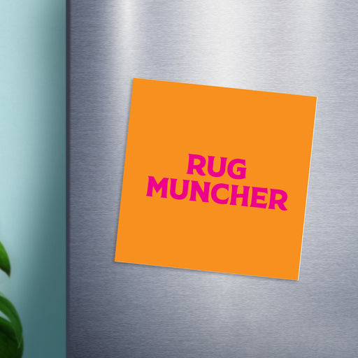 Rug Muncher Magnet | LGBTQ+ Gifts, LGBT Gifts, Gifts For Lesbians, Fridge Magnet, Pop Art