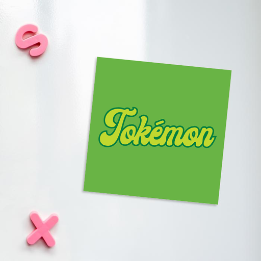 Tokémon Fridge Magnet | Weed Magnet, Gift For Stoner, Weed Smoker, Gamer, Cannabis, Marijuana, Hash, Dope, Pot