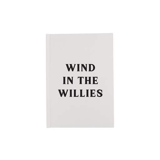 Wind In The Willies A5 Journal | Funny Diary, Notebook For Novelist, Writer, Reader, Literary Pun, Literature, Wind In The Willows, Kenneth Grahame
