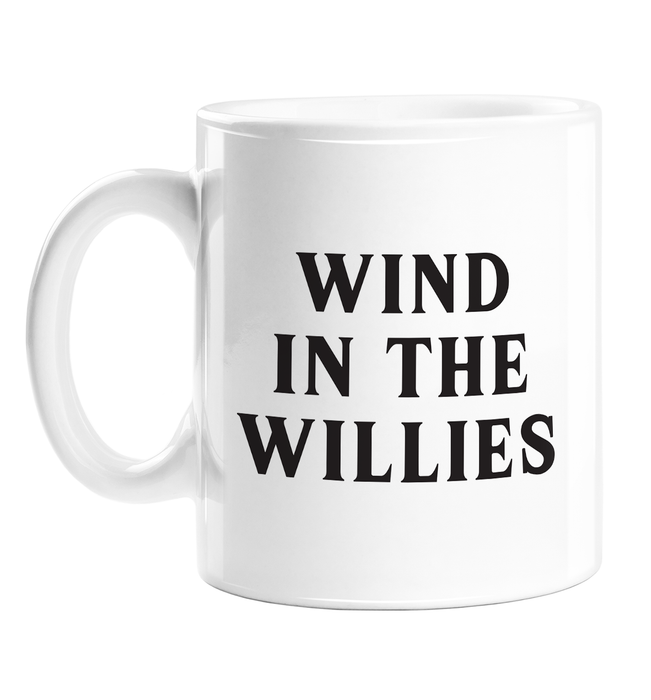 Wind In The Willies Mug | Funny Literary Gifts, Funny Literature Gifts, Wind In The Willows Gifts