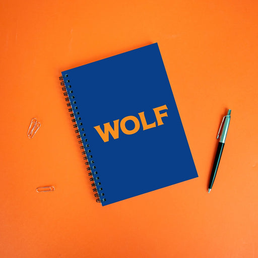 Wolf A5 Notebook | LGBTQ+ Gifts, LGBT Gifts, Gifts For Gay Men, Journal, Pop Art