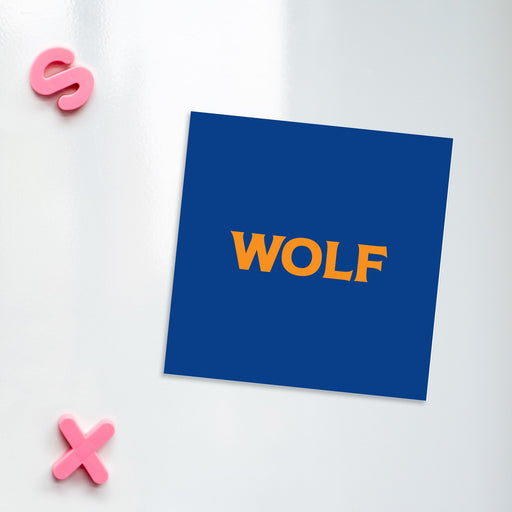 Wolf Magnet | LGBTQ+ Gifts, LGBT Gifts, Gifts For Gay Men, Fridge Magnet, Pop Art