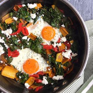 SWISS CHARD EGGS