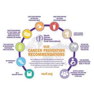 WCRF THIRD EXPORT REPORT - THE LOW DOWN ON THEIR CANCER PREVENTION RECOMMANDATIONS