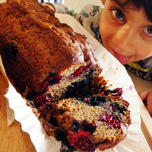 HEALTHY BLUEBERRY & BLACKBERRY LOAF