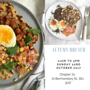 Autumn Brunch - Sunday 22nd October 2017