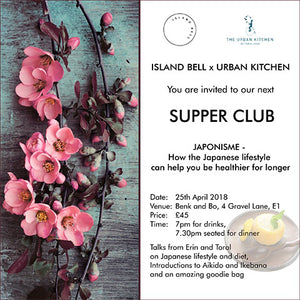 Japonisme Supperclub – How the Japanese Lifestyle Can Help You Be Healthier for Longer