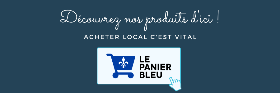 Le panier bleu blue basket buy local j'achete quebecois made in quebec