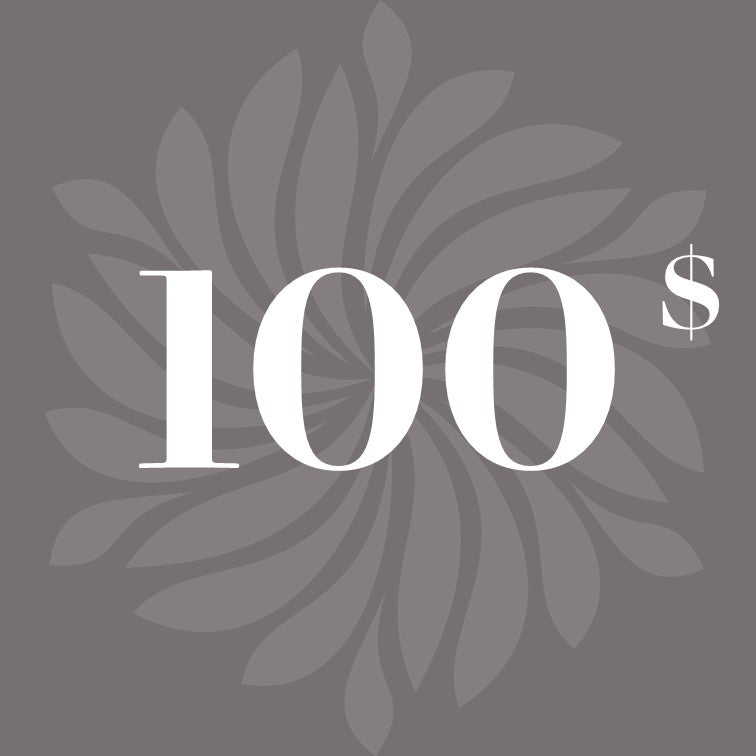 Gift card $ 100