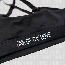 Load image into Gallery viewer, BXR 'One of the boys' Sports Bra