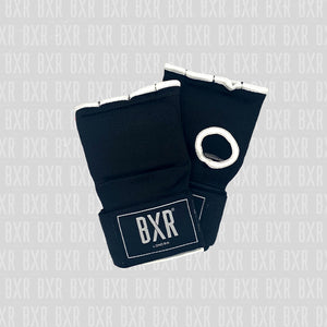 BXR Slip on Padded Hand Wraps - Black