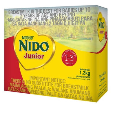 Nido Jr. Junior 1 - 3 Years Old - SAVVYS