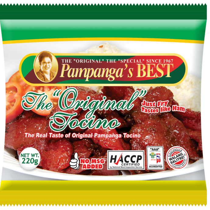 Pampanga's Best Tocino - Savvy's Online Palengke and Grocery Delivery Philippines