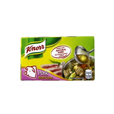 knorr cubes -pork- 6pcs - Savvy's Online Palengke and Grocery Delivery Philippines
