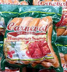 Hungarian Sausage- Carneval 1kg - Savvy's Online Palengke and Grocery Delivery Philippines