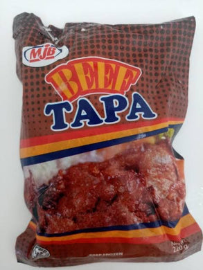 MJB Beef Tapa 1kg - Savvy's Online Palengke and Grocery Delivery Philippines