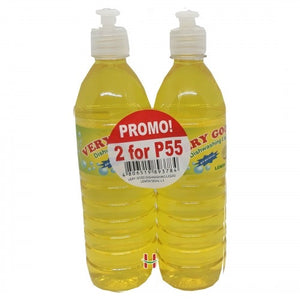 Dishwashing liquid 2 x 500ml - Savvy's Online Palengke and Grocery Delivery Philippines