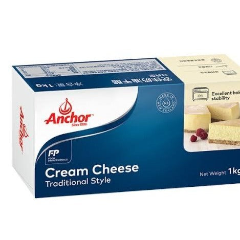 Cream Cheese - Anchor 1kg - SAVVYS