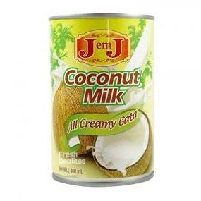 Coconut milk- J em J - 400ml - Savvy's Online Palengke and Grocery Delivery Philippines
