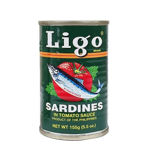 Ligo Sardines 155g - Savvy's Online Palengke and Grocery Delivery Philippines