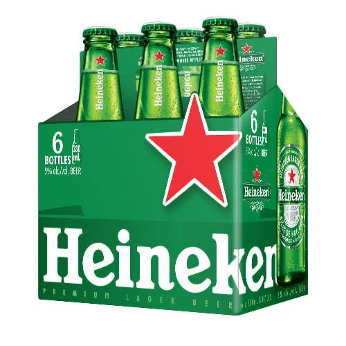 Heineken 6 bottle pack - Savvy's Online Palengke and Grocery Delivery Philippines