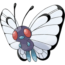 Load image into Gallery viewer, Pokémon Dictionary Definition 0012 Butterfree