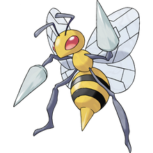 Load image into Gallery viewer, Pokémon Dictionary Definition 0015 Beedrill