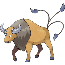 Load image into Gallery viewer, Pokémon Dictionary Definition 0128 Tauros