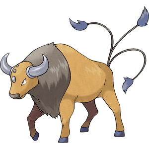Pokémon Dictionary Definition 0128 Tauros