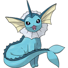 Load image into Gallery viewer, Pokémon Dictionary Definition 0134 Vaporeon