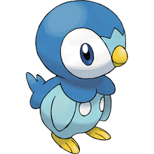 Load image into Gallery viewer, Pokémon Dictionary Definition 0393 Piplup