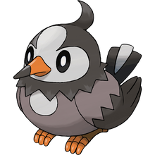 Load image into Gallery viewer, Pokémon Dictionary Definition 0396 Starly