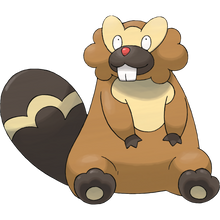 Load image into Gallery viewer, Pokémon Dictionary Definition 0400 Bibarel