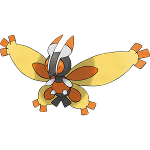 Pokémon Dictionary Definition 0414 Mothim
