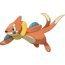 Load image into Gallery viewer, Pokémon Dictionary Definition 0418 Buizel