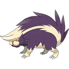 Load image into Gallery viewer, Pokémon Dictionary Definition 0435 Skuntank