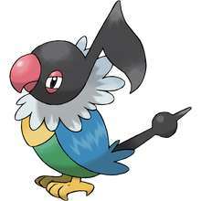 Load image into Gallery viewer, Pokémon Dictionary Definition 0441 Chatot