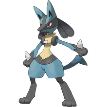 Load image into Gallery viewer, Pokémon Dictionary Definition 0448 Lucario