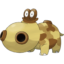 Load image into Gallery viewer, Pokémon Dictionary Definition 0449 Hippopotas