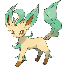 Load image into Gallery viewer, Pokémon Dictionary Definition 0470 Leafeon