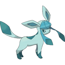 Load image into Gallery viewer, Pokémon Dictionary Definition 0471 Glaceon