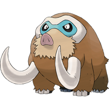 Load image into Gallery viewer, Pokémon Dictionary Definition 0473 Mamoswine