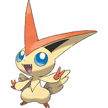 Load image into Gallery viewer, Pokémon Dictionary Definition 0494 Victini