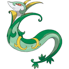 Load image into Gallery viewer, Pokémon Dictionary Definition 0497 Serperior