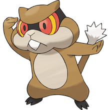 Load image into Gallery viewer, Pokémon Dictionary Definition 0504 Patrat
