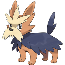 Load image into Gallery viewer, Pokémon Dictionary Definition 0507 Herdier
